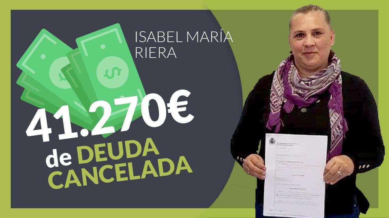Repara tu deuda Abogados cancela 41.270 € a una mujer de Mallorca mediante la Ley de la Segunda Oportunidad
