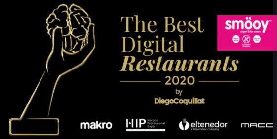 smöoy nominada a los premios The Best Digital Restaurants 2020 como mejor franquicia digital