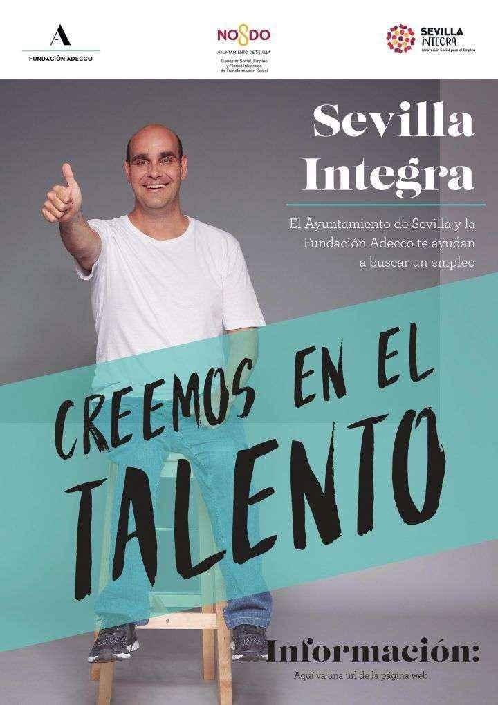 Los beneficiarios desempleados del Proyecto Sevilla Integra siguen recibiendo orientación de F. Adecco
