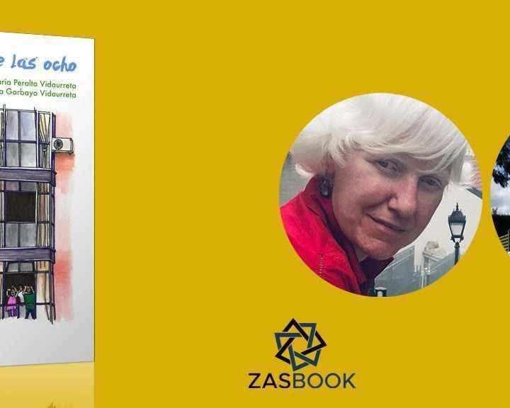 """Zasbook lanza la campaña de crowdfunding del libro """"Mi aplauso de las ocho"""" de María Peralta y Jana Garbayo"""