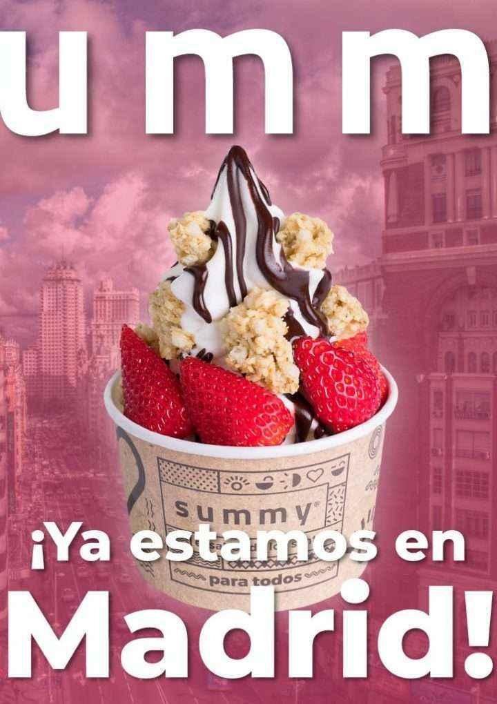 SUMMY consolida su proceso de expansión en España con nuevas aperturas en Madrid