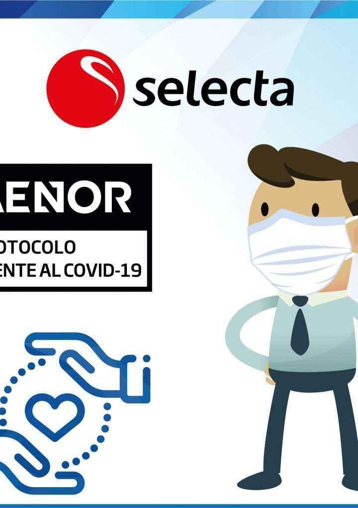 AENOR respalda las buenas prácticas de SELECTA en la gestión del coronavirus