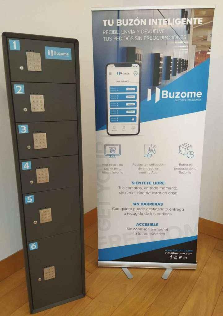 Biocriptology y Buzome se alían para desarrollar la primera solución de recogida de paquetería sin contacto