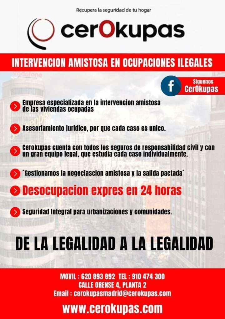 CerOkupas, empresa de desalojo rápida, legal y eficiente, inaugura nueva sede en Madrid