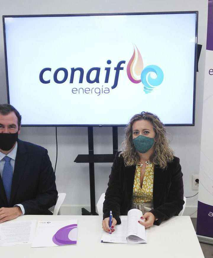 Conaif firma un acuerdo con Aldro para comercializar energía bajo la nueva marca Conaif Energía
