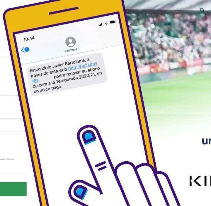 Kíneox y UniversalPay digitalizan la gestión de los abonos del Real Betis Balompié