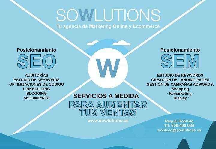 Sowlutions ofrece servicios online a franquicias y pymes Ecommerce fundamental para el crecimiento on line