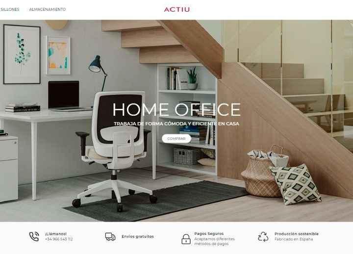 Actiu crea una división de consumo a través de un ecommerce para llevar los espacios de trabajo profesionales al hogar