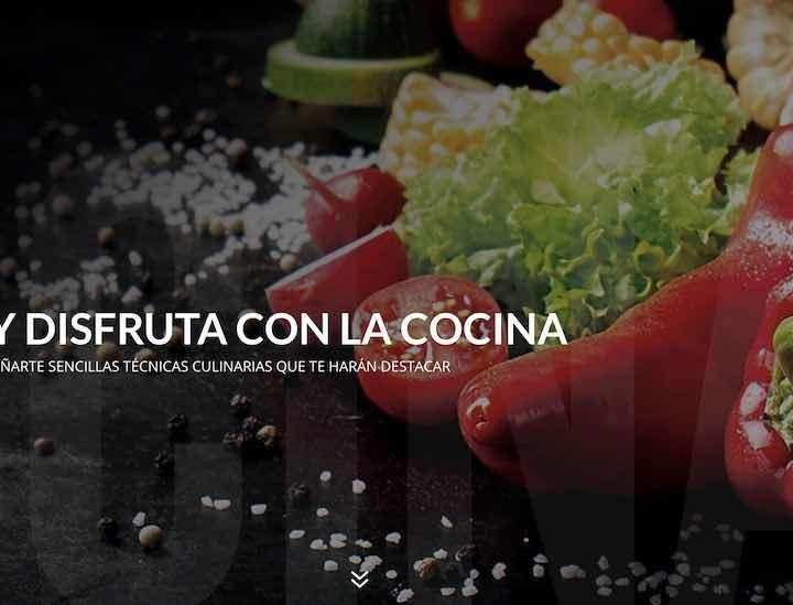 Cocinarte lanza cursos de cocina online con el fin de fomentar una vida más saludable desde la alimentación