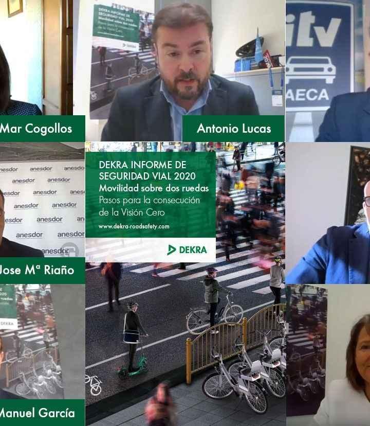 DEKRA celebra su Informe de Seguridad Vial DEKRA 2020 en formato webinar