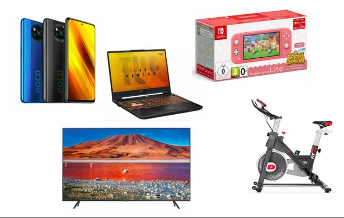 Las mejores ofertas de eBay para el fin de semana en tecnología, deporte y videojuegos