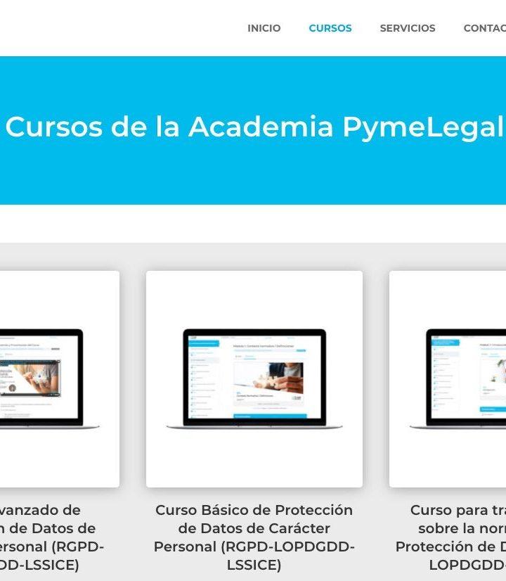 PymeLegal, S.L. ofrece formación online de protección de datos en su nueva academia virtual