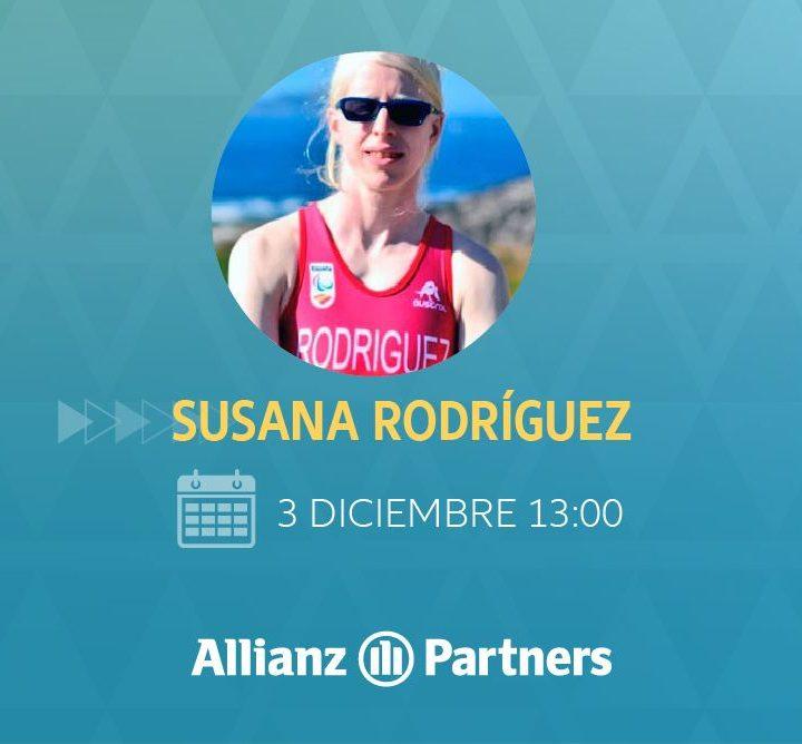 Allianz Partners celebra el Día de las Personas con Discapacidad con S. Rodríguez, triatleta paralímpica